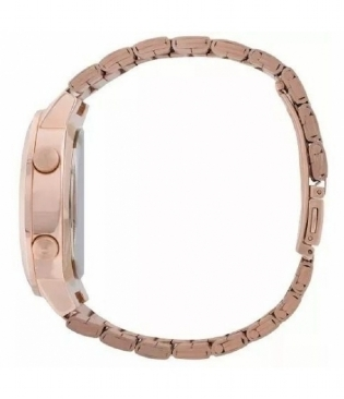 Relógio Digital Feminino Euro Fashion Fit Rose EUBJ3279AF/4J