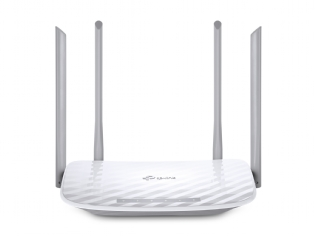 ROTEADOR WIRELESS 1200MPS DUAL BAND 867MPS 5GHZ E 300MPS 2.4GHZ 4 ANTENAS TP-LINK ARCHER C50 - AC120
