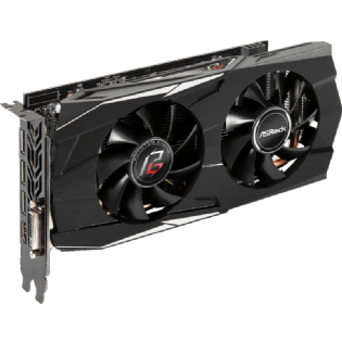 Placa de Vídeo ASRock Radeon RX 580 Phantom Gaming 8Gb GDDR5 256-bit - 90-GA0M00-00UANF